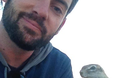 Aaron Teixeira returns from a year studying ground squirrels in South Africa